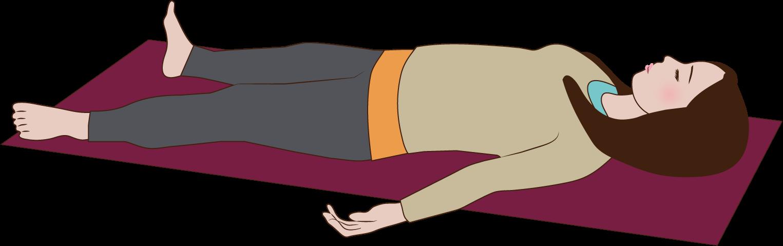 20分ただ寝てるだけで、体幹運動最大12000回の筋収縮